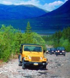 Yukon Jeep Klondike Adventure